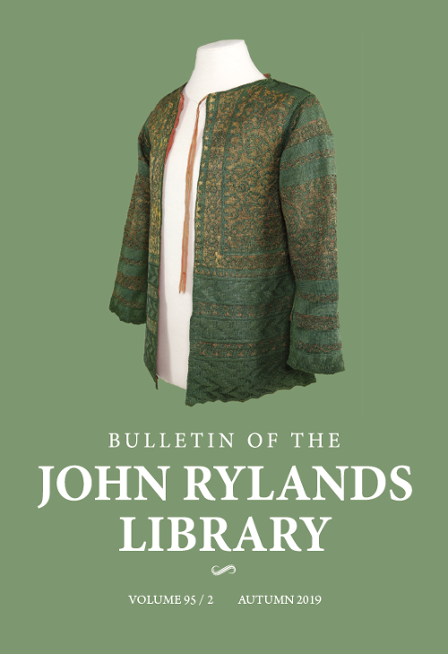 Bulletin of the John Rylands Library