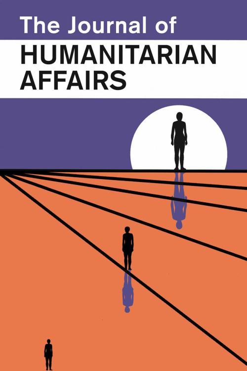 Journal of Humanitarian Affairs - Manchester University Press