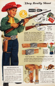 "1959 Montgomery Ward ""Shootin' Shells"" Catalog Ad"